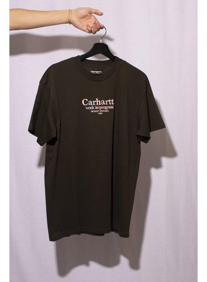 Carhartt - S/S Commission T-Shirt - Cypress