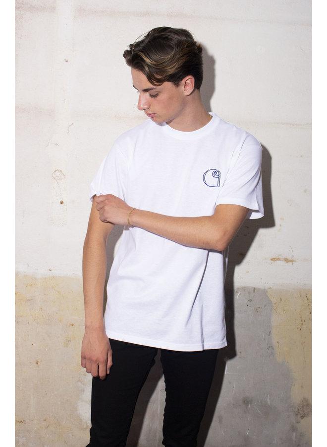 Carhartt - S/S Commission Logo T-Shirt - White