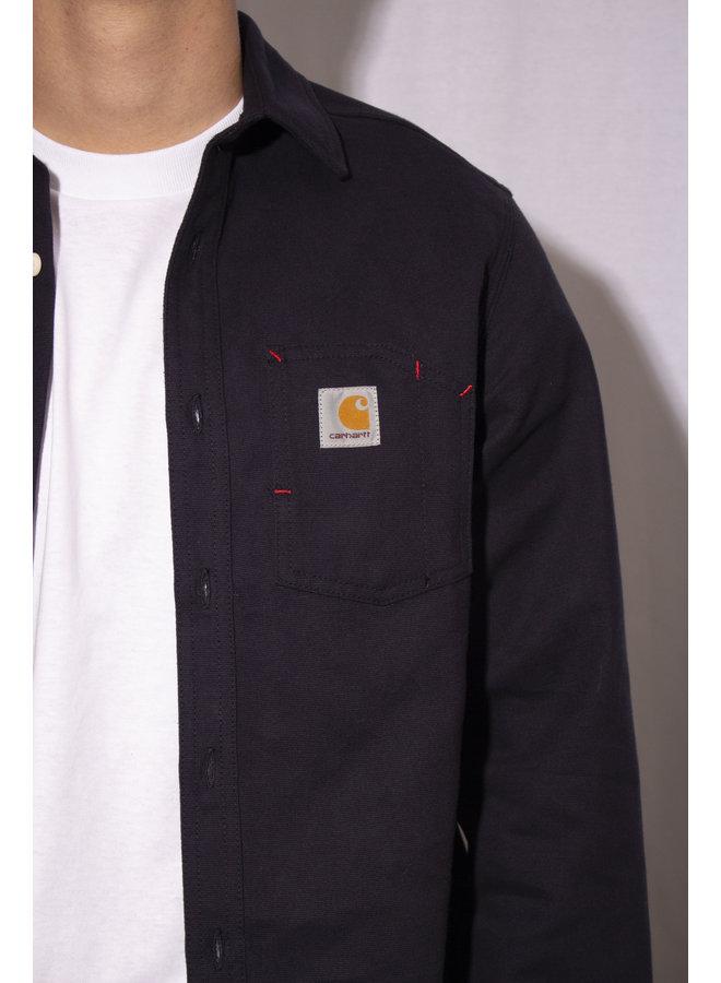 Carhartt - L/S Tony Shirt - Dark Navy