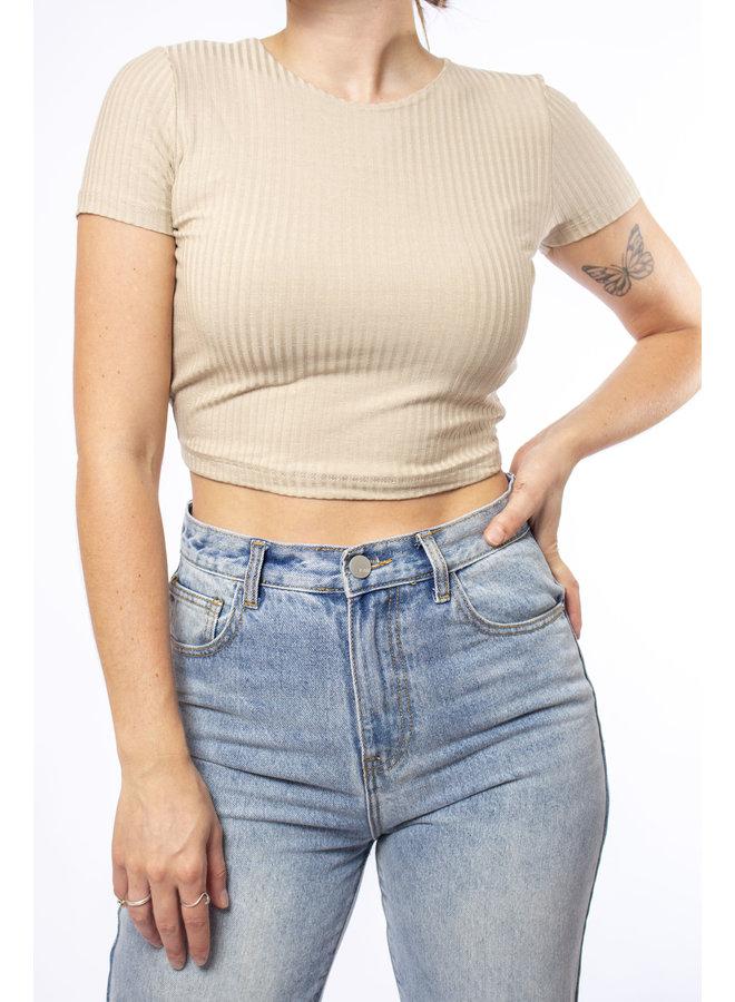 Olivia Top - Beige