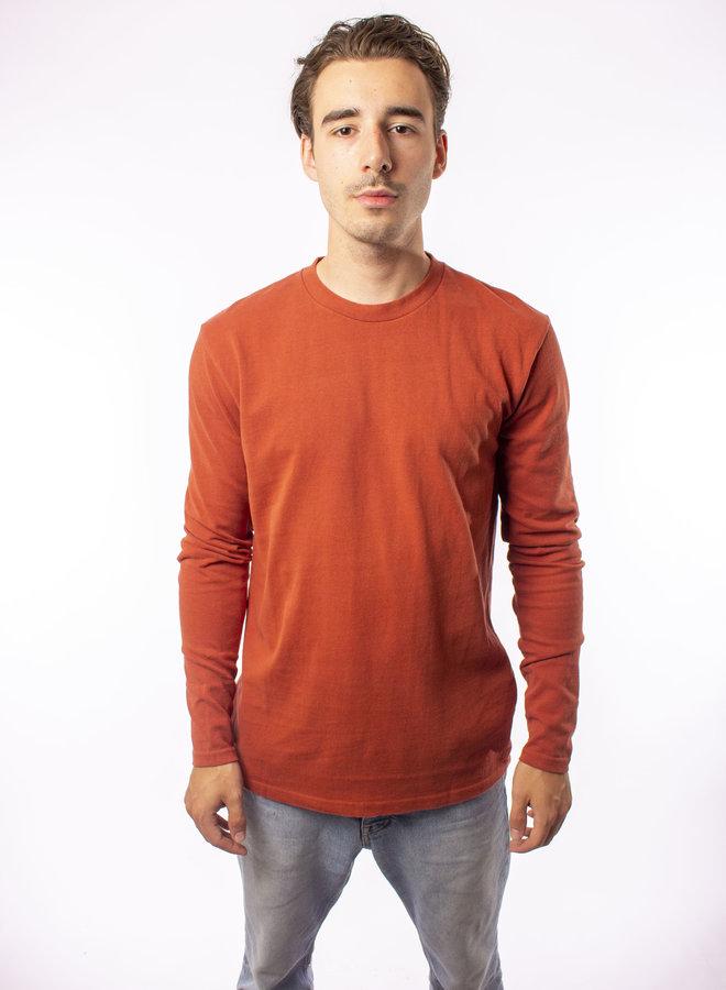 Minimum - Kvist T- Shirts - Baked Clay Melange