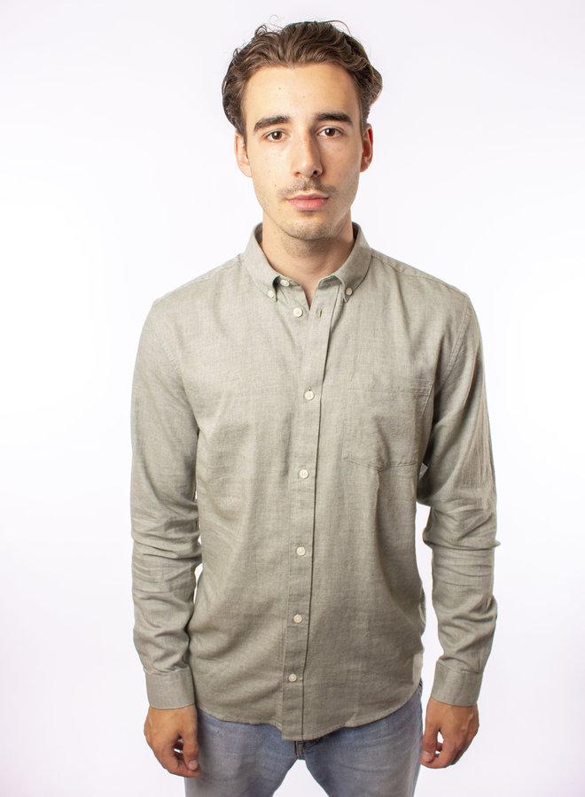 Minimum - Jay 2.0 Shirts - Sea Spray Melan