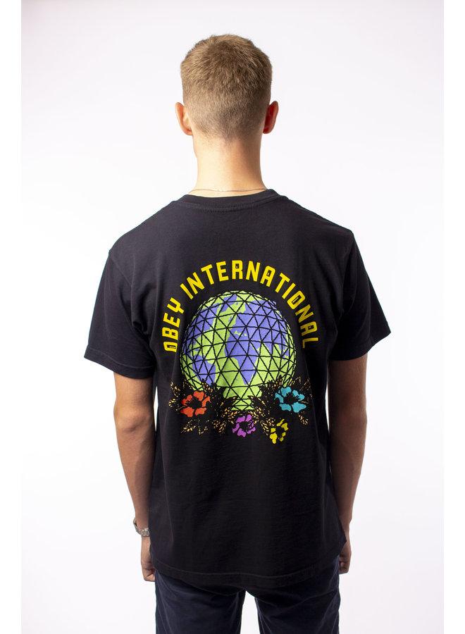 Obey - Floral Globe - Black
