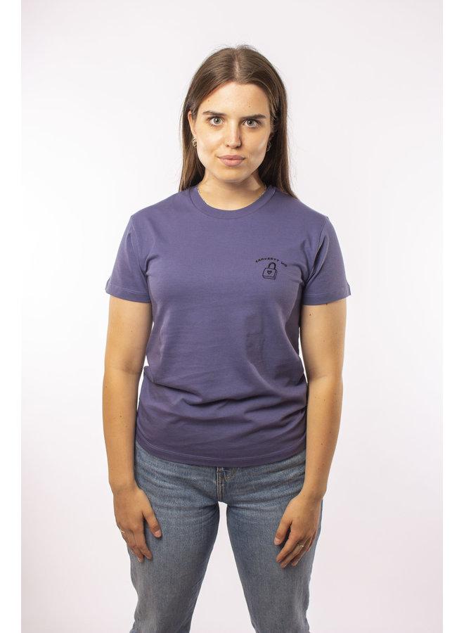 Carhartt - W' S/S Reverse Midas T- Shirt - Cold Viola/ Black