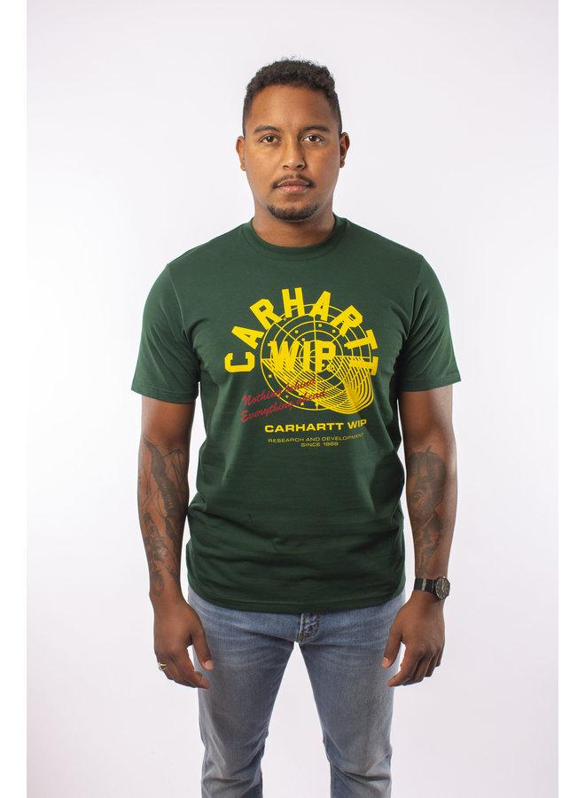 Carhartt - S/S Remix T- Shirt - Bottle Green
