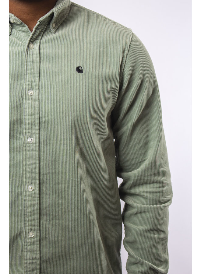 Carhartt - L/S Madison Cord Shirt - Frosted