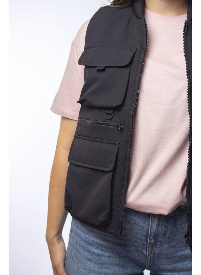 W' Colewood Vest - Black