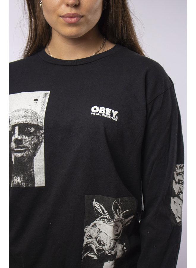 Obey - Visual Industries - Off Black