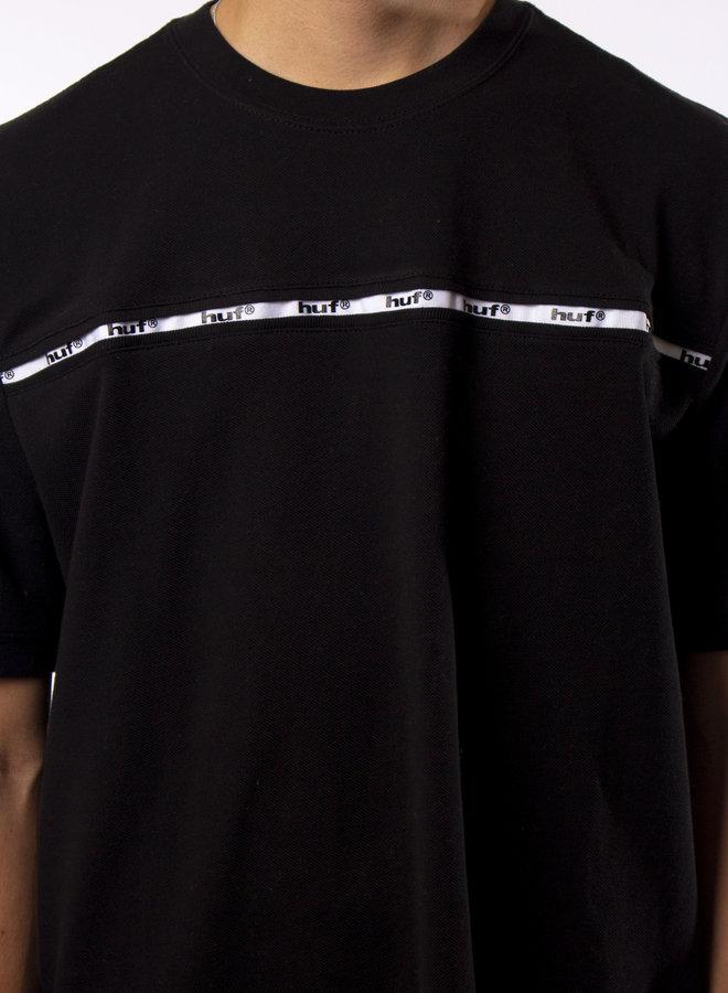 Huf - Set S/S Knit Top - Black