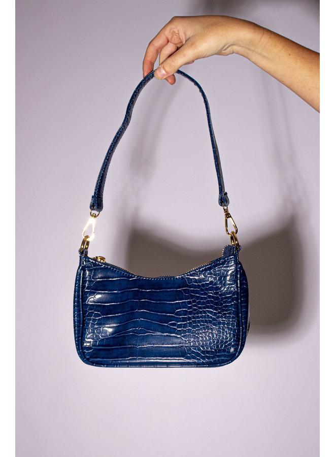 Vintage Handbag - Dark Navy