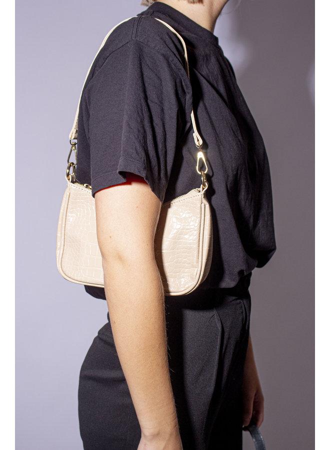 Vintage Handbag - Beige