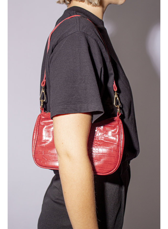 Vintage handbag - Red