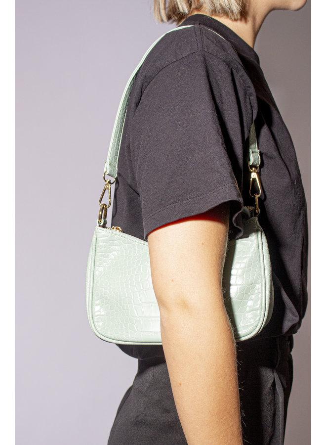 Vintage Handbag - Mint Green