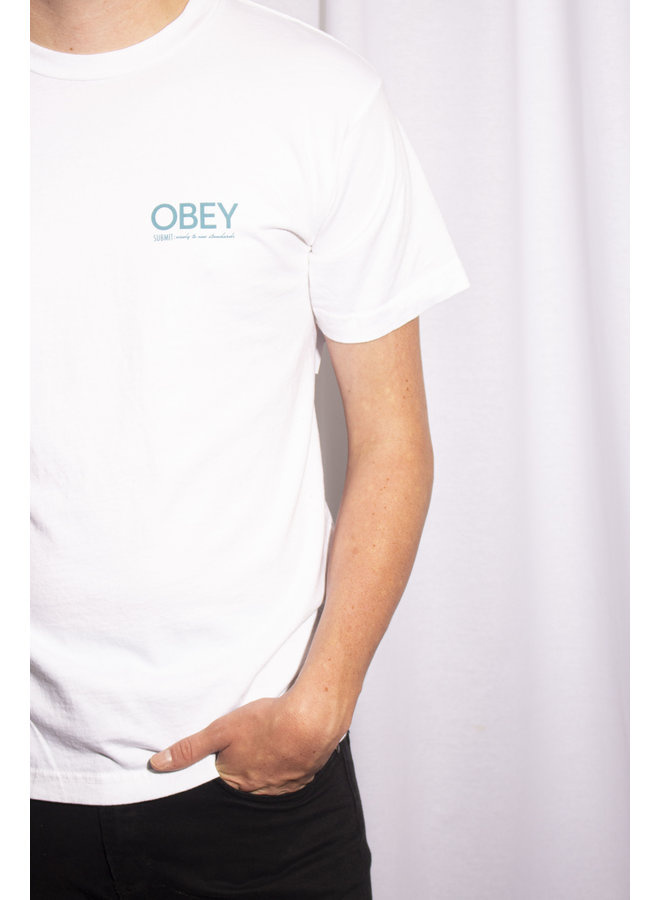 Obey - Submit Wisely - White
