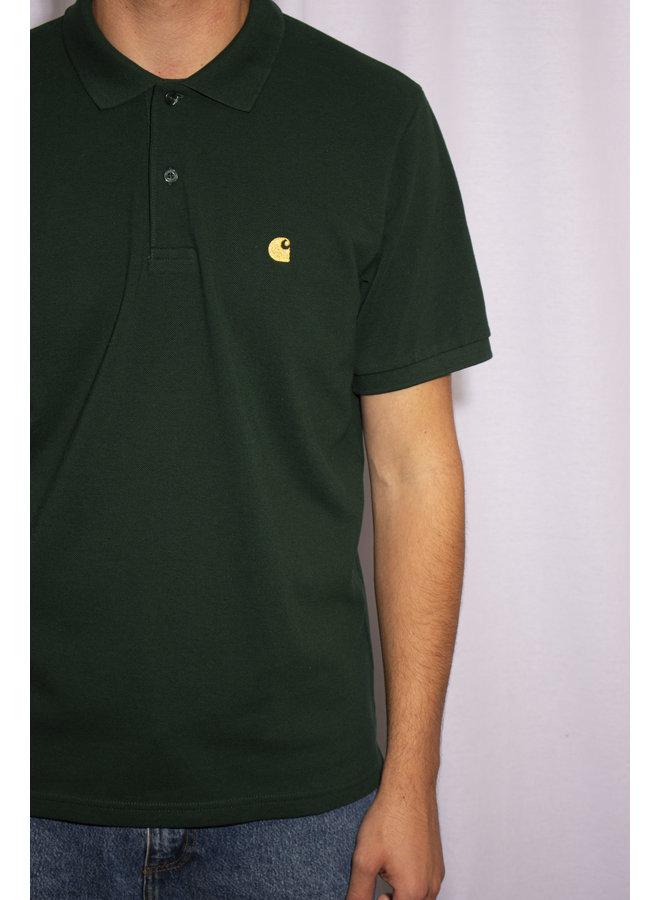Carhartt - S/S Chase Pique Polo - Bottle Green