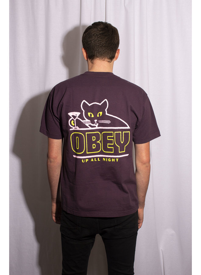 Obey - Up All Night - Blackberry Wine