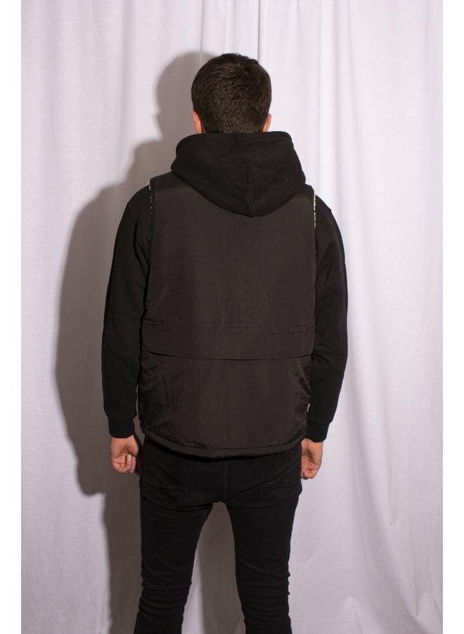 Obey - External Vest - Black