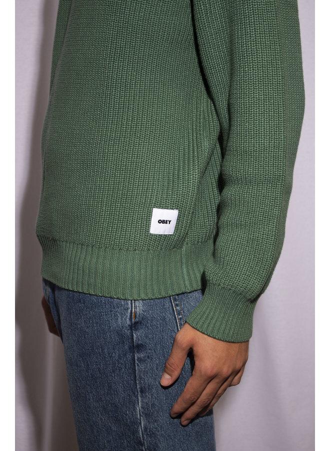 Obey - Bold Label Organic Sweater - Mallard Green