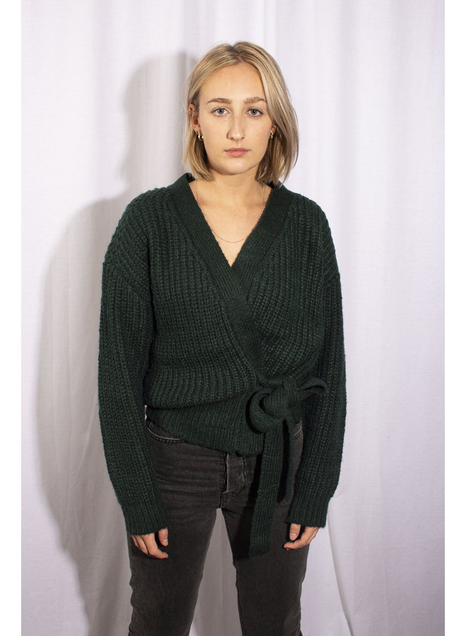 Laura Vest - Dark Green