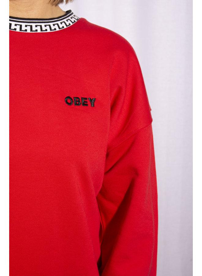 Obey - Regina Crew - Red