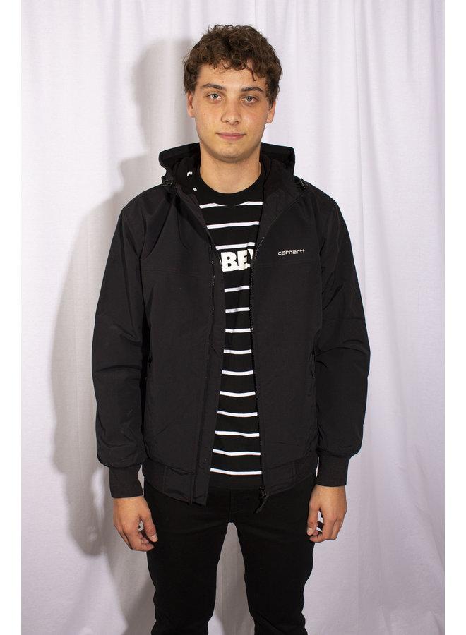 Carhartt - Hooded Sall Jacket - Black/ White