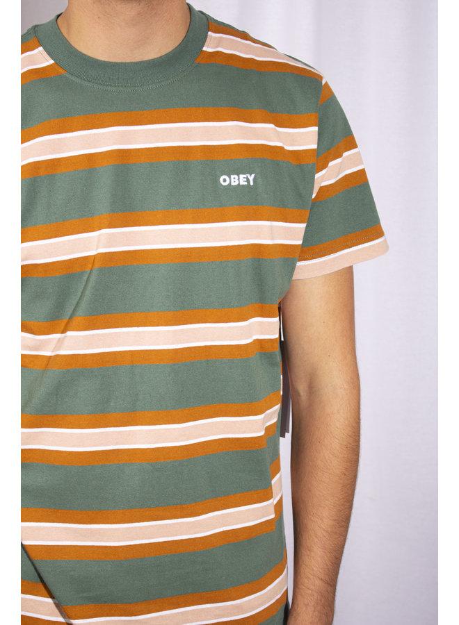 Obey - Logan Tee SS - Green Multi