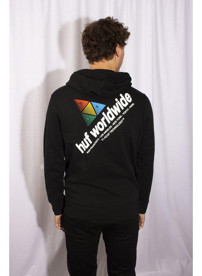 HUF - Peak Sportif P/0 Hoodie - Black