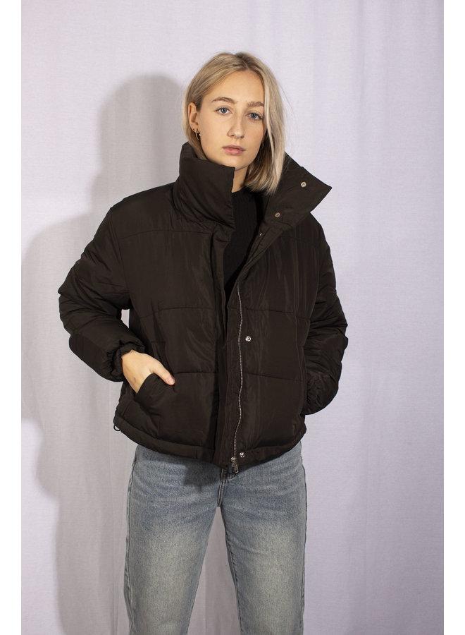 24 Colours - Down Jacket 90307b - Black