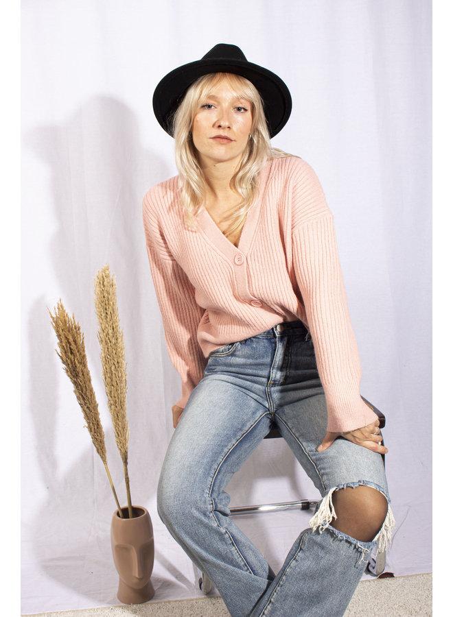Lola Vest - Pink
