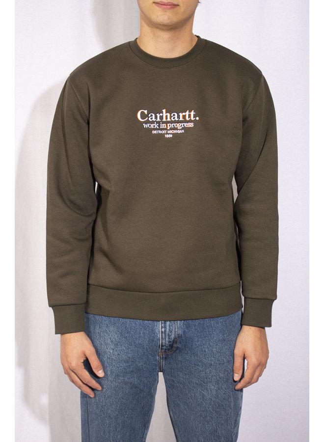 Carhartt - Commission Sweat - Cypress