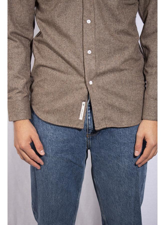 Minimum - Shirts Zach - Khaki Melange