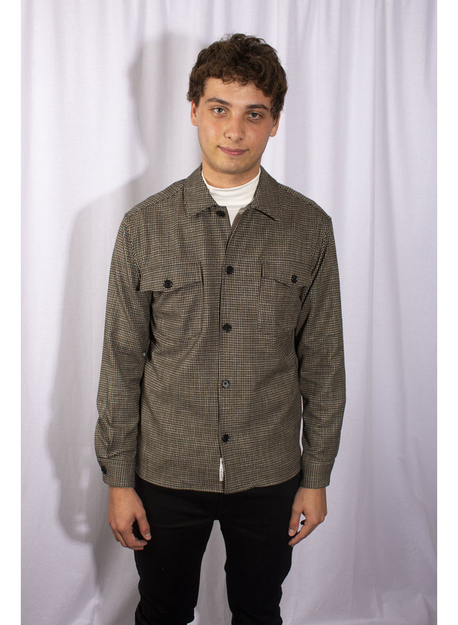 Minimum - Fjell Shirts - Dark Olive