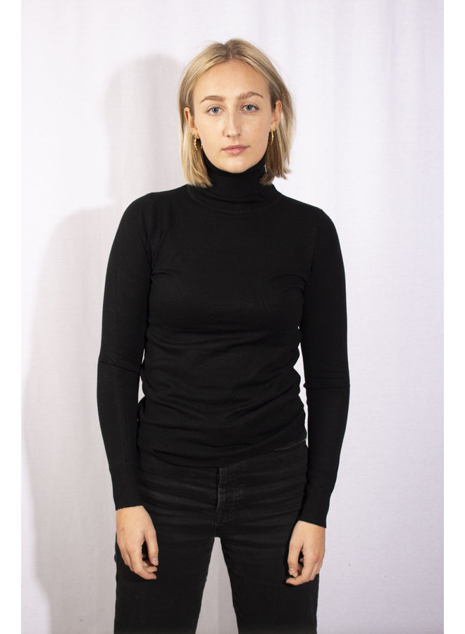 Col Sweater - Black