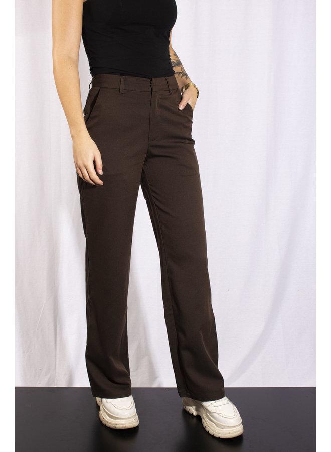 Rut & Circle - Fia Pants - Dark Brown