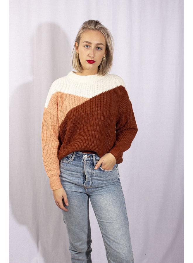 24Colours - Landscape Sweater (40727a)