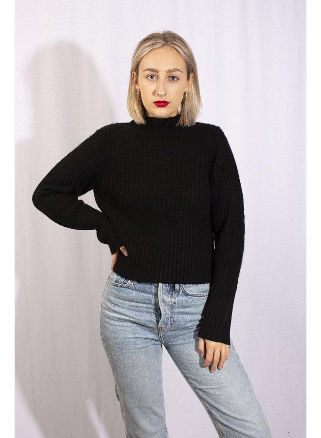 24Colours - Sweater Black (40740b)