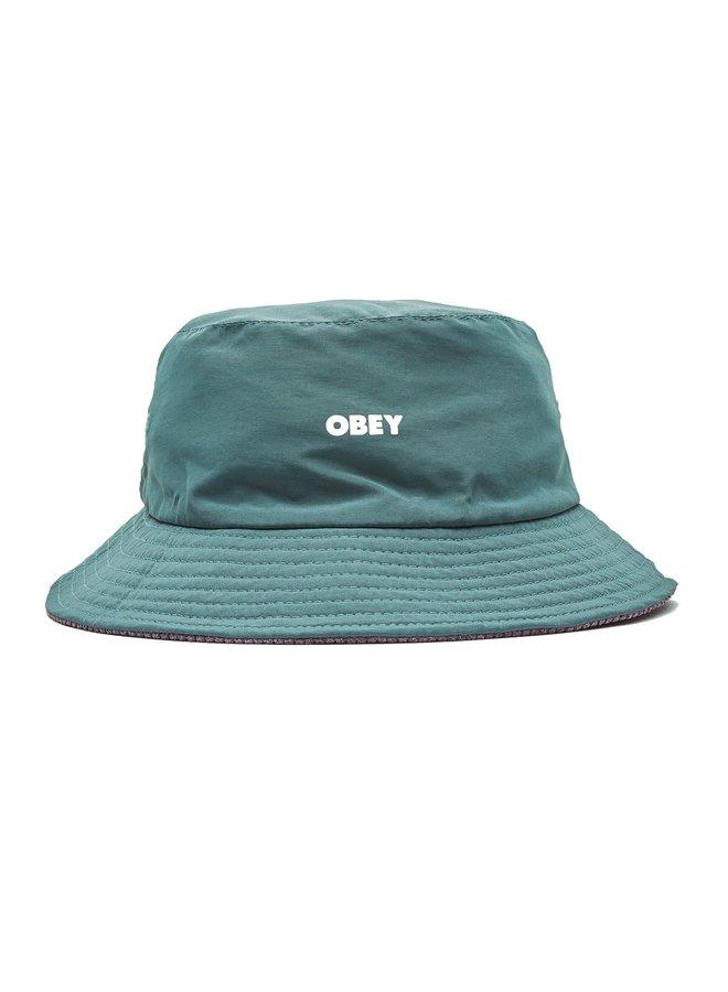 Obey - Royal Reversible Bucket Hat - Green Multi