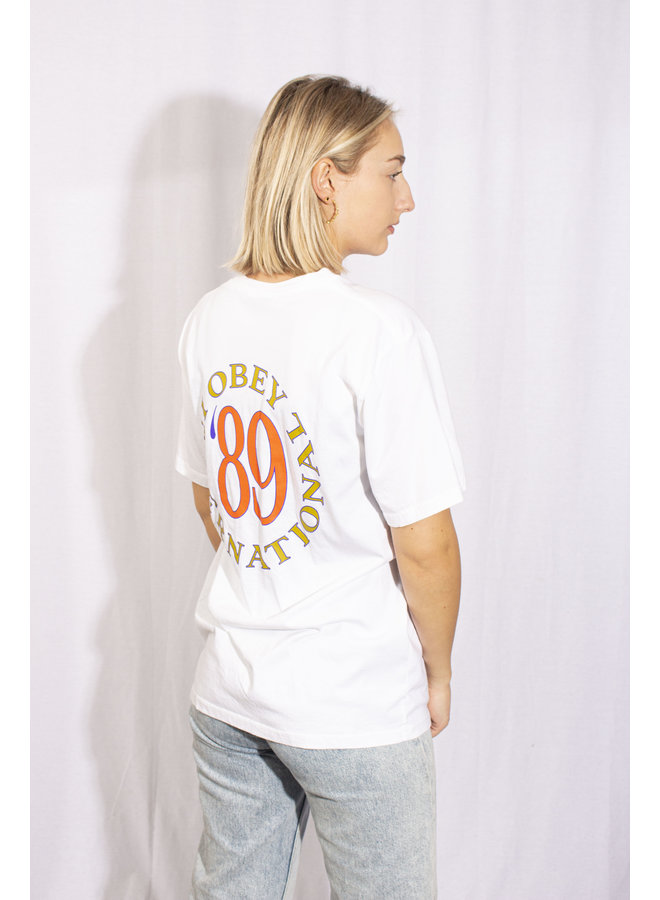 Obey - Obey International '89 - White