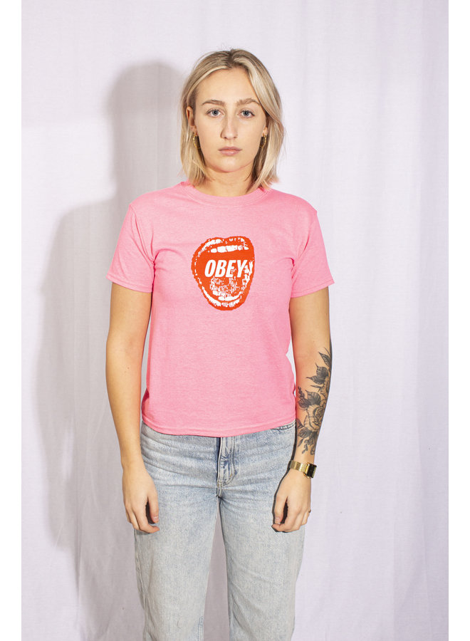 Obey - Screamin' Lips 2 - Safety Pink