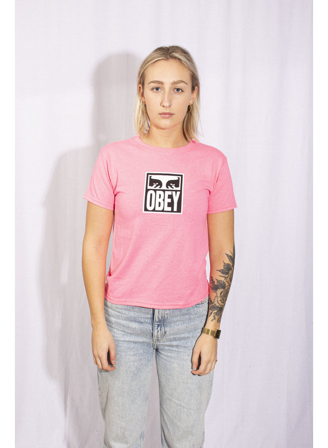 Obey - Obey Eyes Icon - Safety Pink
