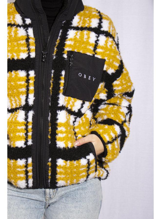 Obey - Hudson Jacket - Mustard Multi