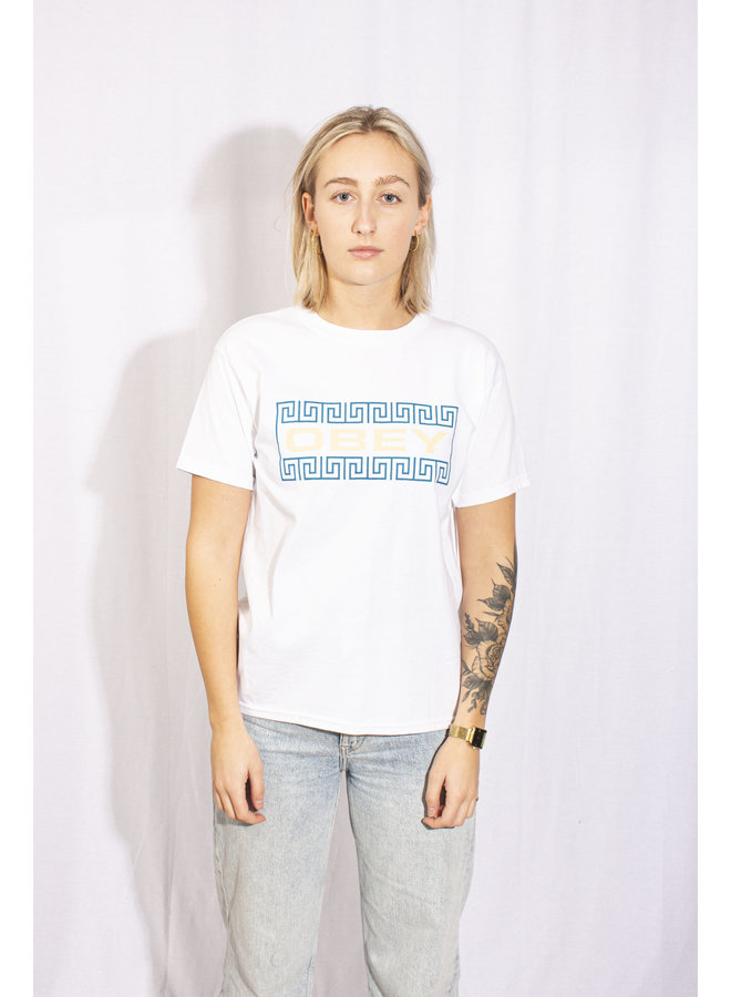 Obey - Coat Of Arms Type - White