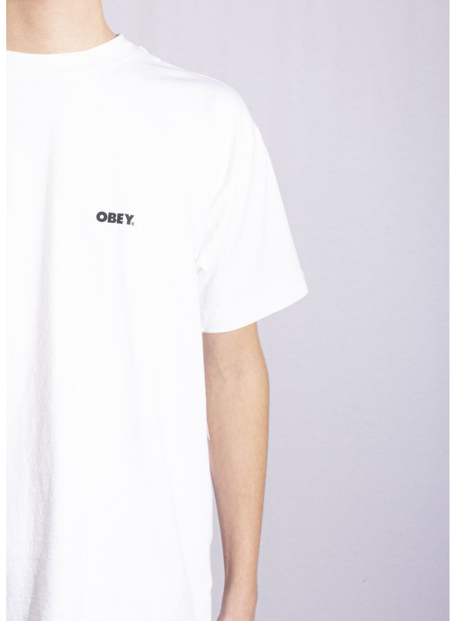 Obey - No Justice, No Peace - White