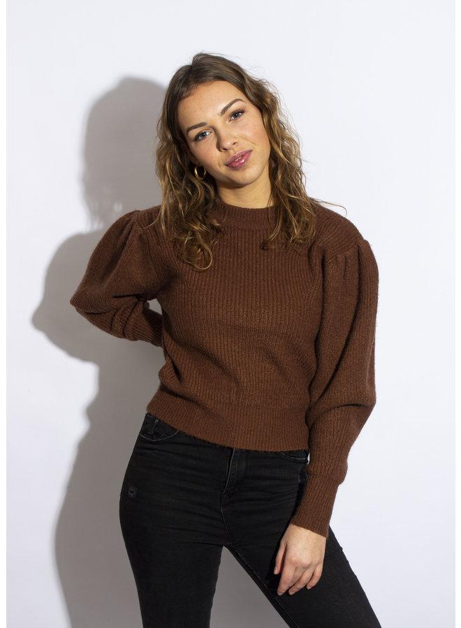 Michelle Sweater - Brown