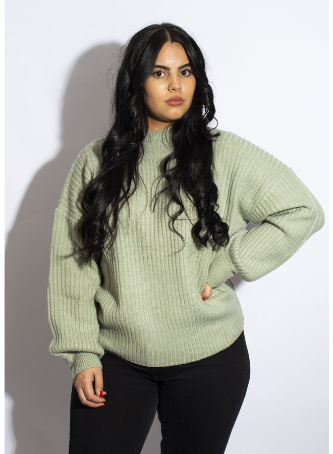 24 Colours - Sweater Green - 40757a