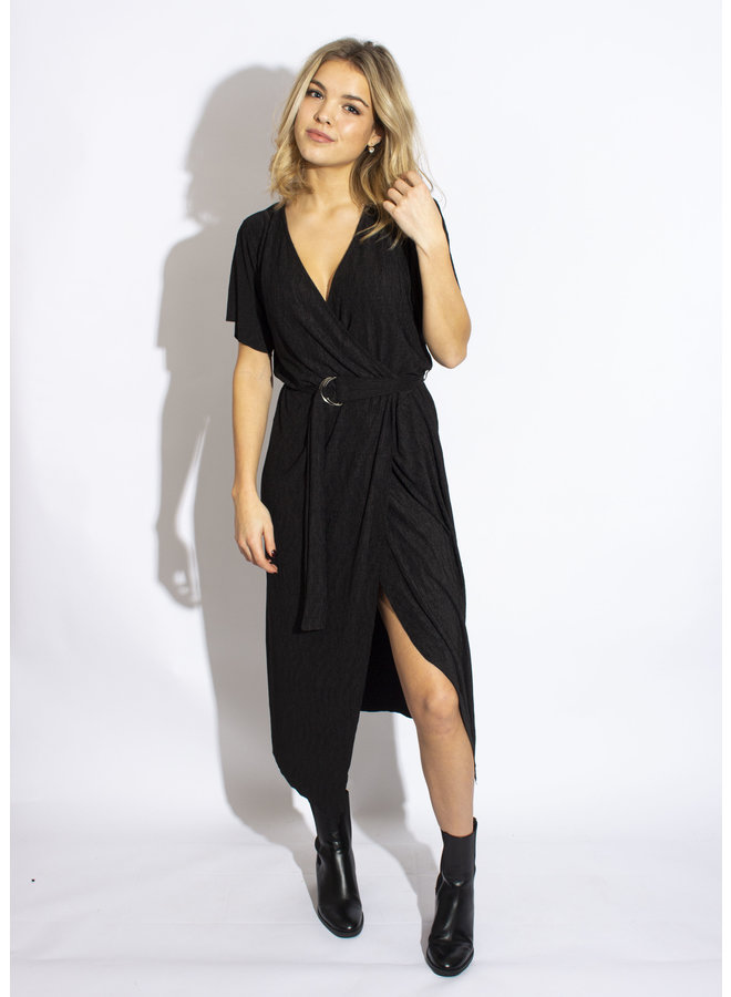 24 Colours - Black Dress - 20771b