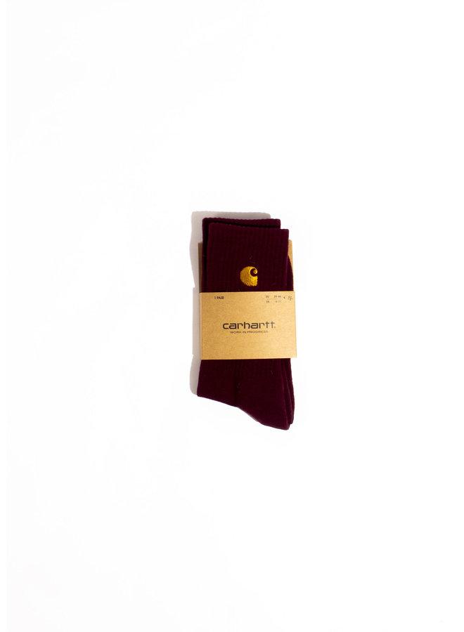 Carhartt - Chase Socks - Bordeaux