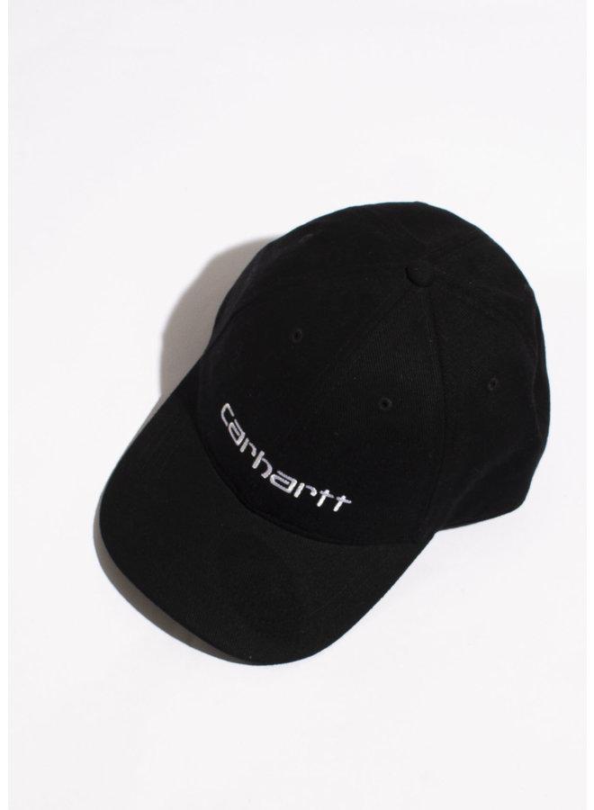 Carhartt - Carter Cap - Cotton Black/ White - One Size