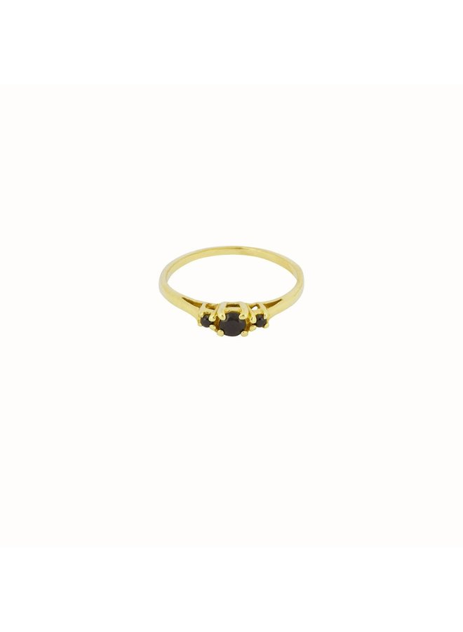 Flawed - Ancient Eye Ring - Gold Plated