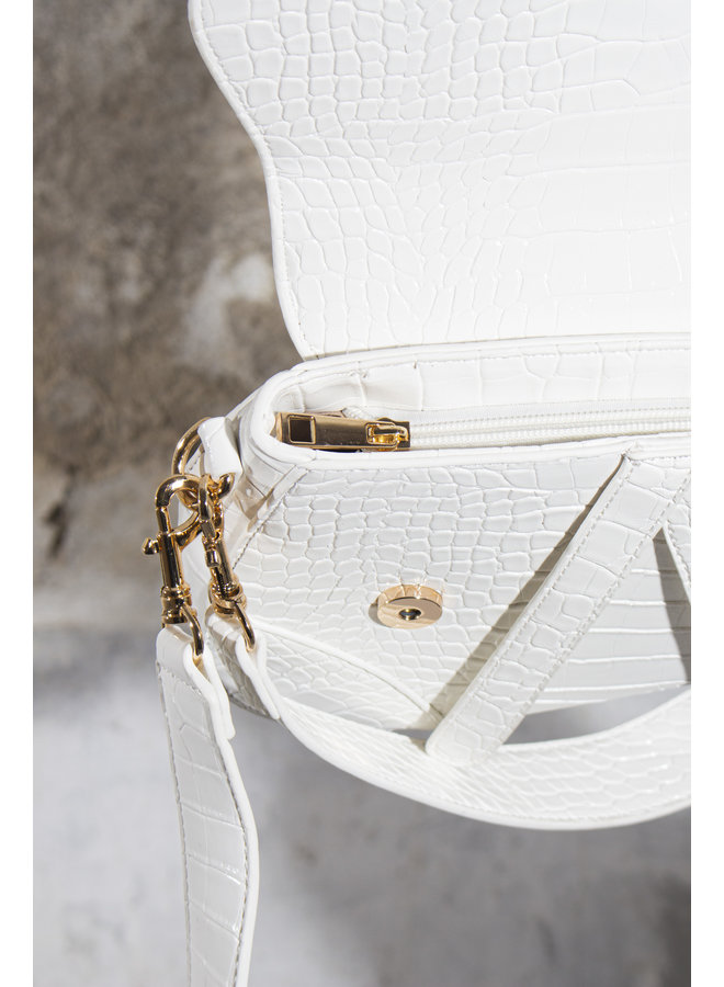 Jane Handbag - White